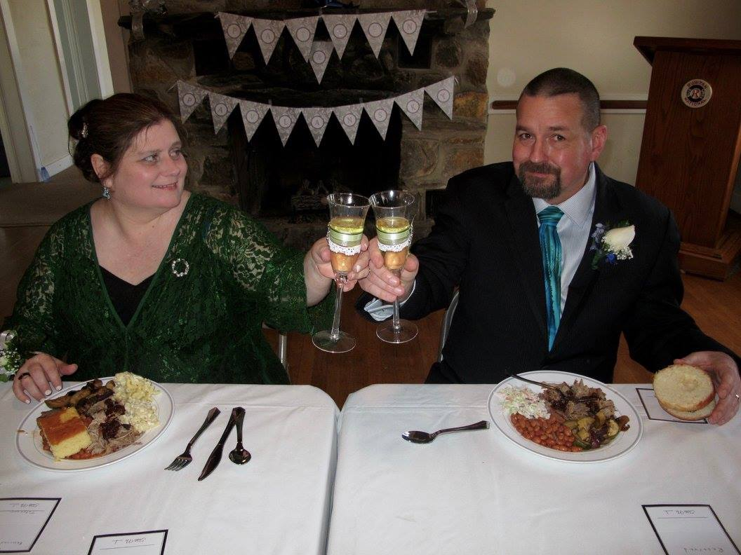 T.Patten's Wedding Toast Photo