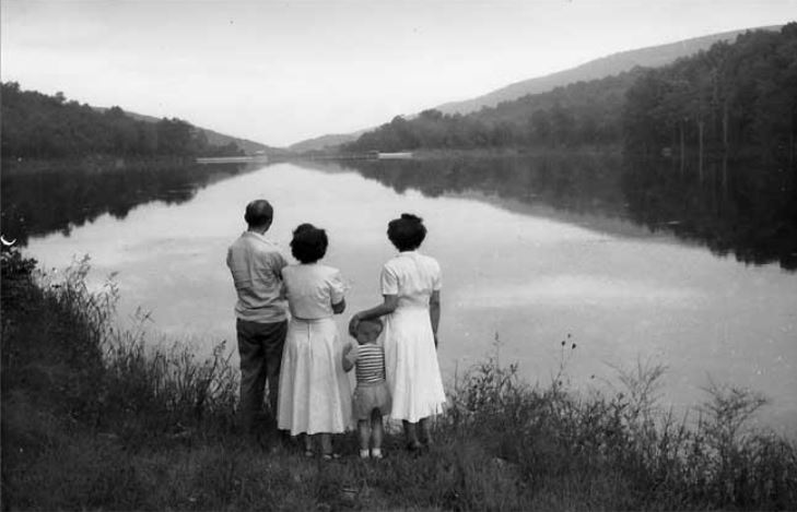 Sugar Hollow Reservoir - mid 1900s